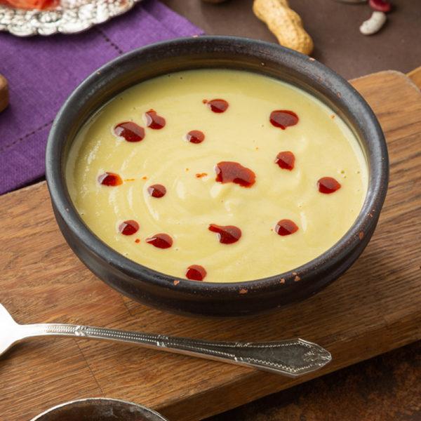 крем-суп из кабачков с мацони